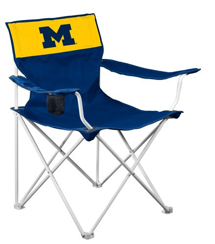 NCAA Michigan Wolverines Folding Canvas Chair at Amazon.com