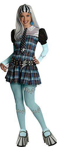 Rubies Womens Monster High Frankie Stein Halloween Themed Party Fancy Costume