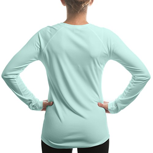 Vapor Apparel Women's UPF Long Sleeve Solar Performance T-Shirt X-Large Seagrass