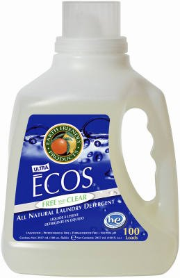 Earth Friendly Products PL988904 100-oz. Free & Clear Concentrated Liquid Laundry Detergent