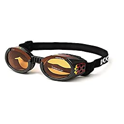 Doggles ILS Flames Dog Glasses X-Small