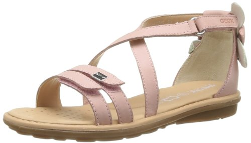 Geox Girls' J S.Milk B Fashion Sandals