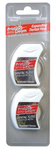 Pristine Gleam Expanding Dental Floss (pack of 3)