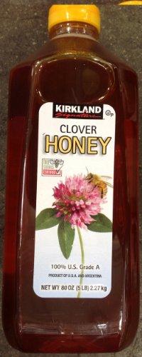 Clover Honey (5 Pound) Grade A