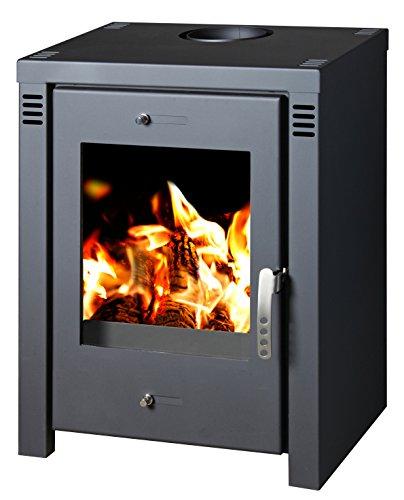cheap verona l 9kw contemporary modern multi fuel wood. Black Bedroom Furniture Sets. Home Design Ideas