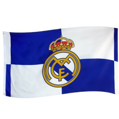 Real Madrid Authentic La Liga Flag QT