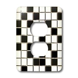 lsp_32451_6 Lee Hiller Designs Mosaic Tiles - Black and White ...