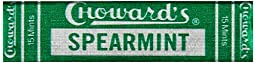 C. Howard Spearmint Candies, 0.87-Ounce Boxes (Pack of 24)