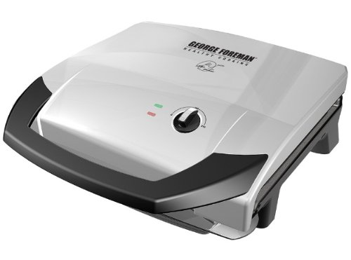 George Foreman GR0059P 120 Square Inch Healthy Cook Variable Temperature Grill (George Foreman Grill Drain Tray compare prices)