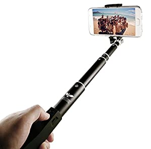 halcyon t wireless selfie stick pro bluetooth monopod for iphone 6 6s 6 5 5s. Black Bedroom Furniture Sets. Home Design Ideas