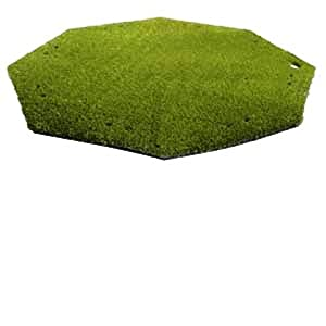 "Golf Driving Range / Chipping Mats - AstroTurf 58"" Octagonal Turf Mat with 5/8"" Pile Height by Astro Turf"