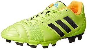adidas Performance Men's Nitrocharge 3.0 TRX FG Soccer Shoe, Solar Slime/Black/Solar Zest, 8.5 M US