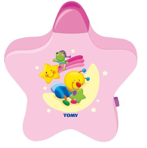 Pink Tomy Starlight Dreamshow Musical Baby Night Light front-1063903