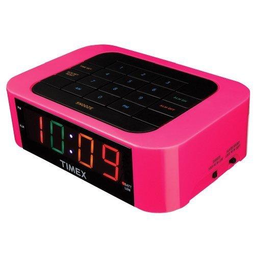 Pink Digital Alarm Clock Fel7 Com