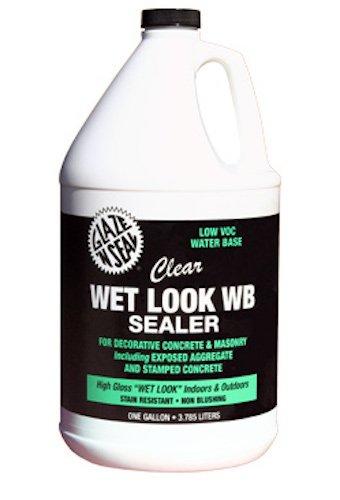 glaze-n-seal-173-clear-wet-look-wb-sealer-gallon-128-oz-plastic-bottle-pack-of-1