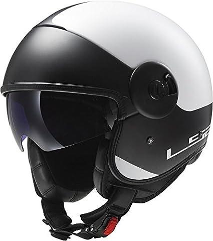 LS2 OF597 Cabrio Via Matt Titanium Black Motorcycle Helmet