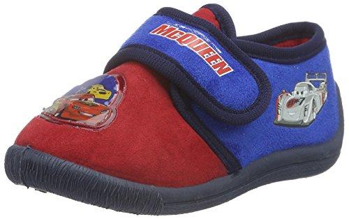 Cars-Boys-Kids-Velcro-Low-Houseshoes-Zapatilla-de-estar-por-casa-Nios