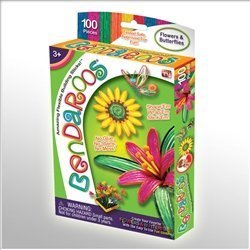 Bendaroos Flowers and Butterflies Set - 1