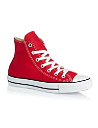 Converse Unisex Chuck Taylor Hi Top Red Shoes M9621