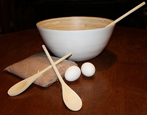 Wooden Spoons Set Cooking Crafts Kitchen Baking Mixing Serving Stirring Utensils Puppets