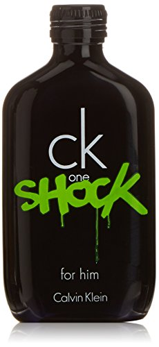 Ck One, Shock, Eau de Toilette Spray da uomo, 100 ml