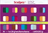 Sculpey III Polymer Clay Color Sampler, Multicolor