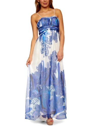 Aidan Mattox Strapless Gown Women's Dress Royal  10