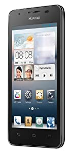 Huawei Ascend G510 Smartphone (11,4 cm (4,5 Zoll) Touchscreen, 1,2GHz, Dual-Core, 512MB RAM, 5 Megapixel Kamera, Android 4.1) schwarz