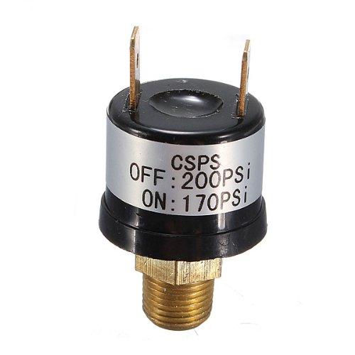 Trumpet Train Horn Compressor Air Pressure Switch 170-200 PSI 12V