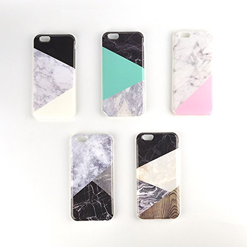 2016 Granite Classic Geometric Mosaic Triangle Marble Phone Case Covers Capa Para For IPHONE 6 6s 6 Plus 6s plus Coque Case (Jack Spade Iphone 4s Case compare prices)