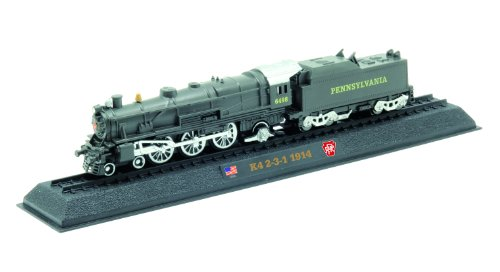 K4 2-3-1 PRR - 1914 diecast 1:160 scale locomotive model (Amercom LN-24) - 1