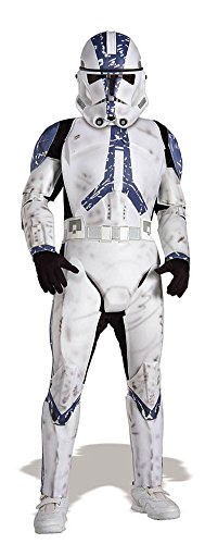boys - Clone Trooper Lg Child Halloween Costume - Child Large