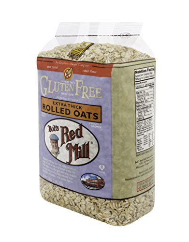 Bob's Red Mill Gluten Free Extra Thick Rolled Oats, 32-ounce (Pack of 4) (Gluten Free Muesli compare prices)