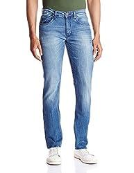 IZOD Men's Peyton Skinny Fit Jeans (8907163681157_ZKJN0032_36W x 34L_Indigo)