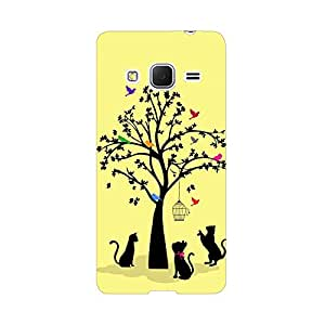 Digi Fashion Designer Back Cover with direct 3D sublimation printing for Samsung Galaxy Core Prime G360
