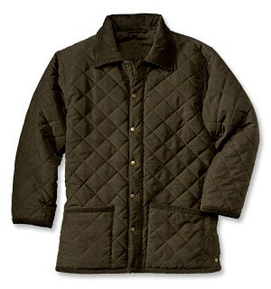 Dry-Waxed Quilted Jacket - Buy Dry-Waxed Quilted Jacket - Purchase Dry-Waxed Quilted Jacket (Orvis, Orvis Coats, Orvis Mens Coats, Apparel, Departments, Men, Outerwear, Mens Outerwear, Coats, Full Length, Mens Coats, Full Length Coats, Mens Full Length Coats)