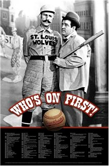Who's on First - Abbott and Costello