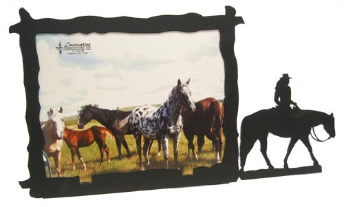 Lady Western PLEASURE RIDER 8X10 Horizontal Picture Frame