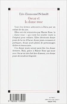 Oscar et la dame rose english book