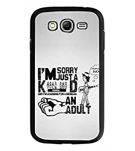 PRINTSWAG TYPOGRAPHY Designer Back Cover Case for SAMSUNG GALAXY GRAND I9082