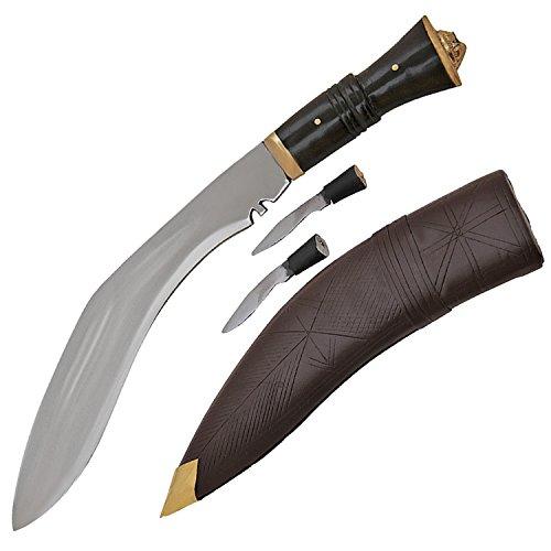Gurkha Kukri Service Machete Real Wood Handle 9 Inch Blade