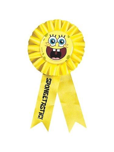 "Amscan SpongeBob 6"" x 3"" Award Ribbon - 1"