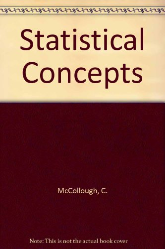statistical concepts Download and read statistical concepts a basic program statistical concepts a basic program we may not be able to make you love reading, but statistical concepts.