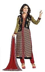 Mahaveer Fashion Women's Dress Material (9773_25_81000_Black_Free Size)