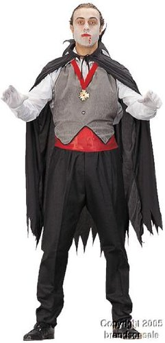 Adult Men's Vampire Halloween Costume