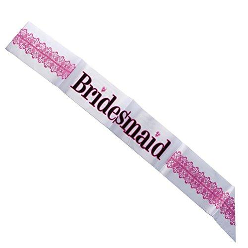 """Bridesmaid"" Sash - 1"