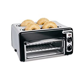 Hamilton Beach 24708 Toastation 4-Slice Toaster and Oven