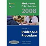 Blackstone's Police Manuals 2008: Four Volume Set (0199229236) by Connor, Paul