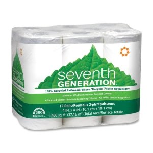 Seventh Generation Recycled Bath Tissue, Big Roll
