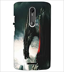 MOTOROLA MOTO X3 DRAGON Designer Back Cover Case By PRINTSWAG